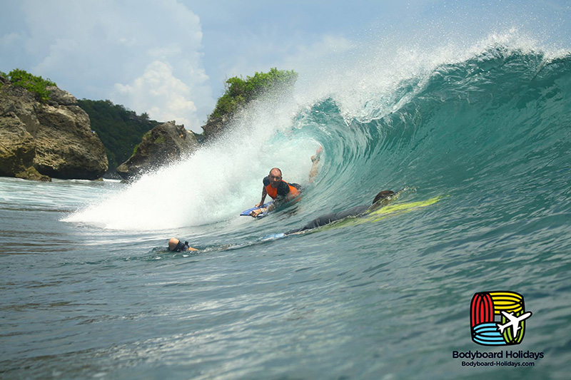 how to get barrelled on a bodyboard