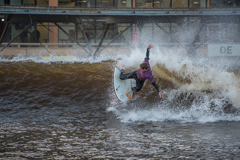 Bodyboard at Surf Snowdonia perfect man made waves every time!