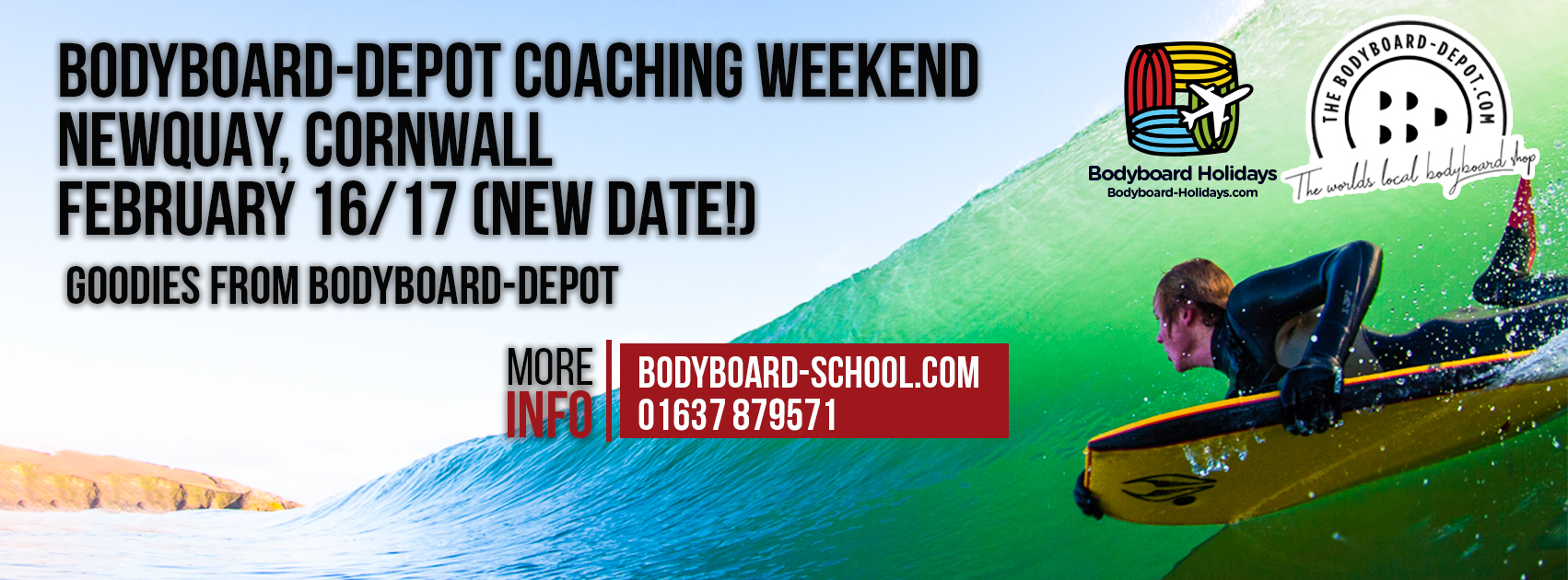 Cornwall Bodyboarding Weekend