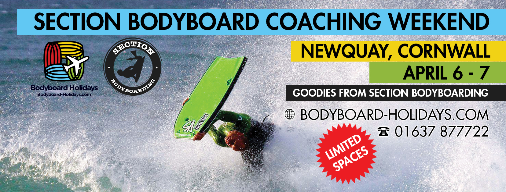April 2019 Bodyboard Coaching Weekend