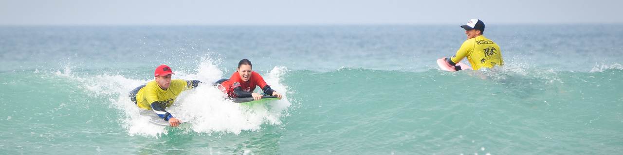 Coaching Newquay Bodyboard Retreat
