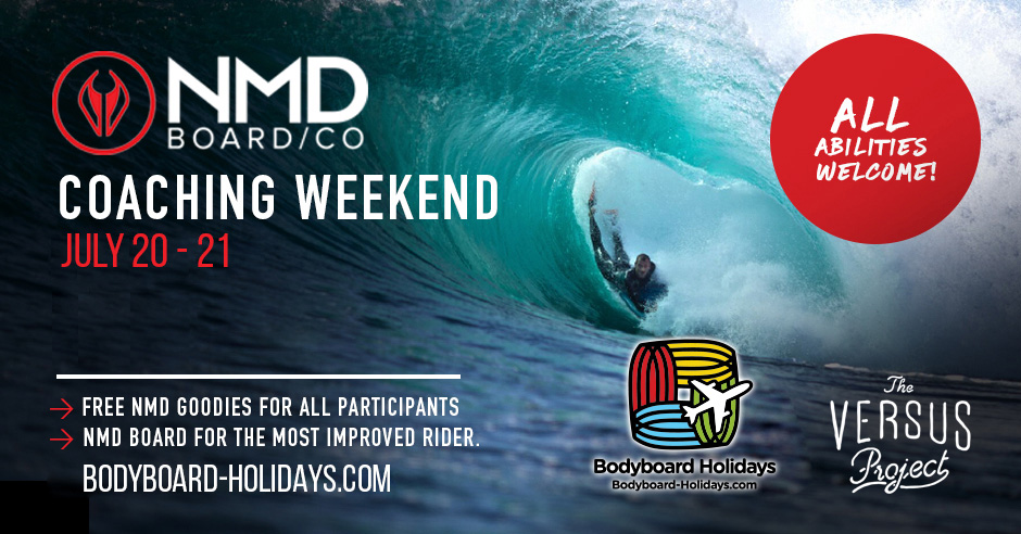 July Bodyboard Coaching Weekend