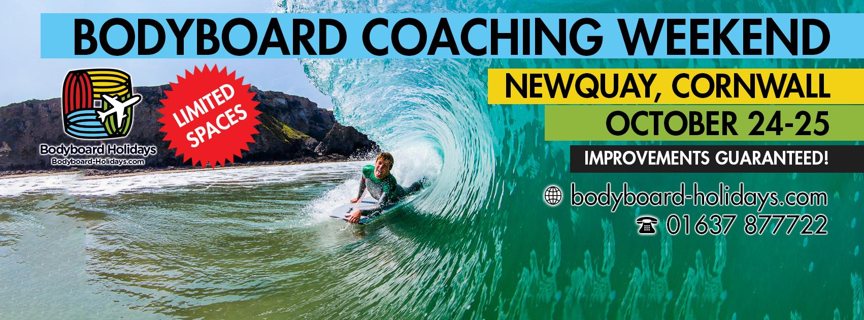 October Bodyboard Coaching Weekend