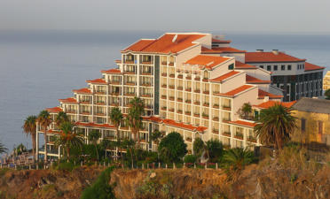 The grand Cliff Bay Hotel in Funchal, Madeira Island, Portugal